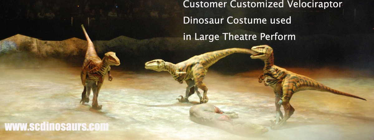 Super Realistic Dinosaur Costume Give You Another Level Entertainment Slide Image 2 3